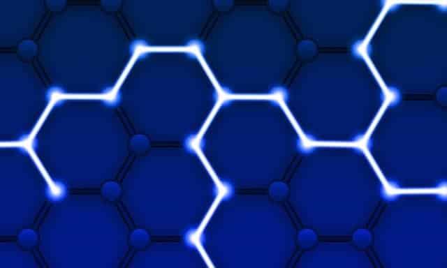blockchain- blue